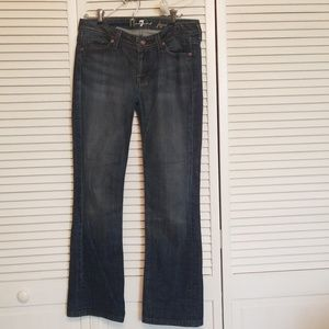 7 for all mankind flynt Jean's. Size 29
